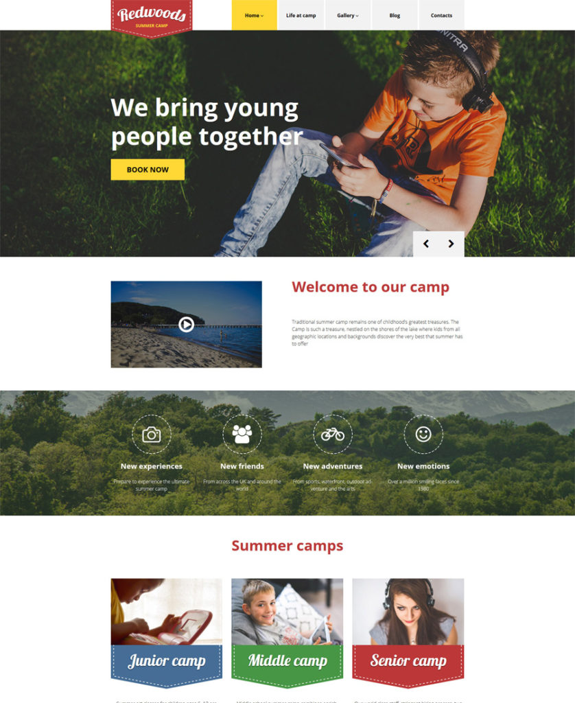 Redwoods-WordPress-Theme - responsive WordPress themes