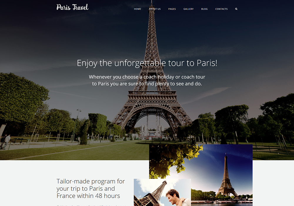 Travel Joomla 3 template