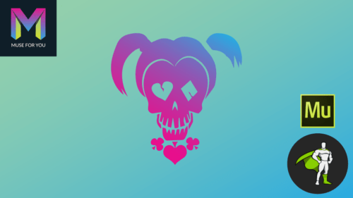Muse For You - Suicide Squad Character Morphing - Adobe Muse CC