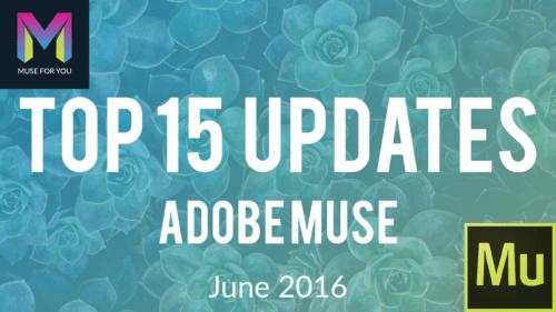 Adobe Muse CC - 2015.2 Update