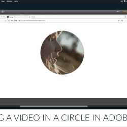 Muse For You - Placing a Video within a Circle in Adobe Muse - Adobe Muse CC
