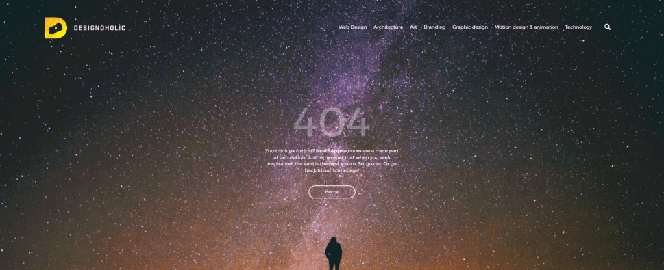 20+ Fresh & Creative 404 Error Pages Examples For Your Inspiration