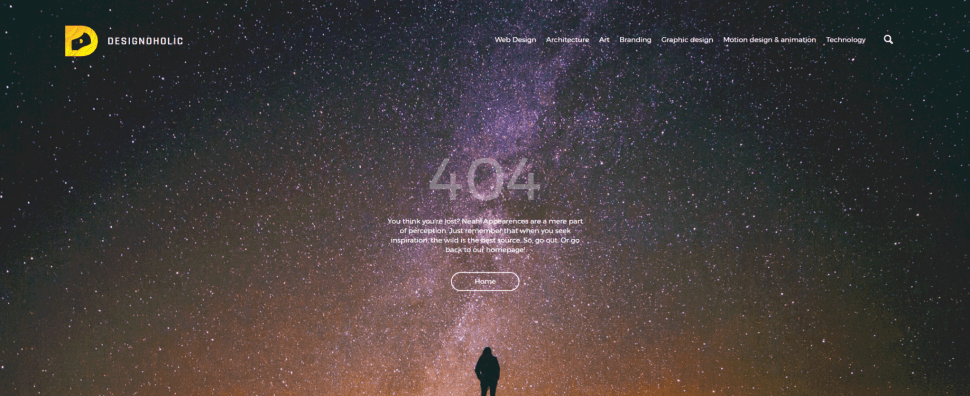 20+ Fresh & Creative 404 Error Pages Examples For Your Inspir...