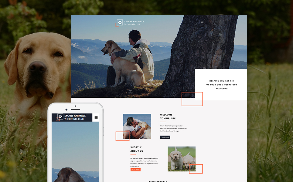 Pet Care Web Template