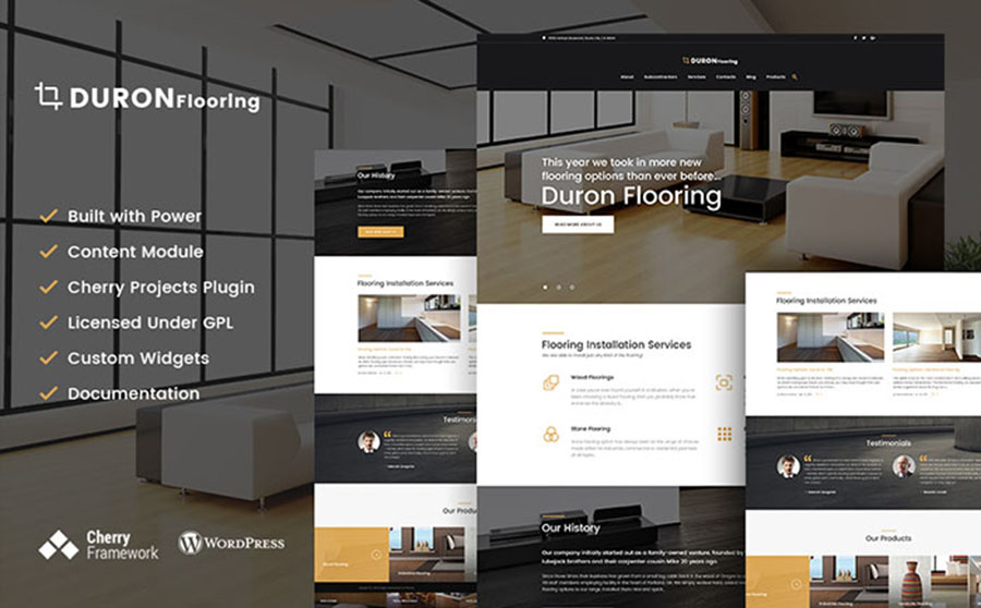 Flooring WordPress Theme
