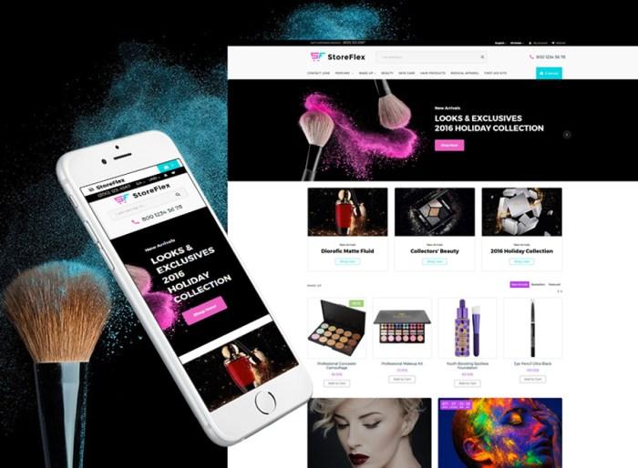 StoreFlex - Cosmetics Store Responsive OpenCart Template