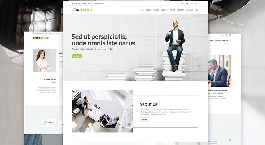 Business & Finance WordPress Theme