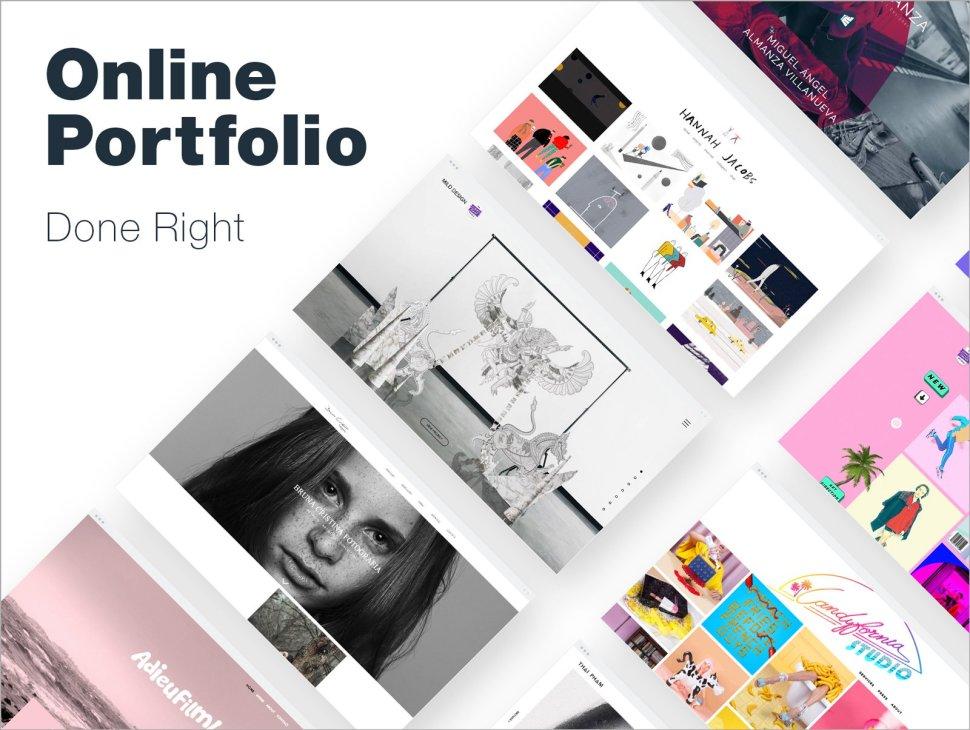 Online Portfolio: 10 Designers Who Got It Right