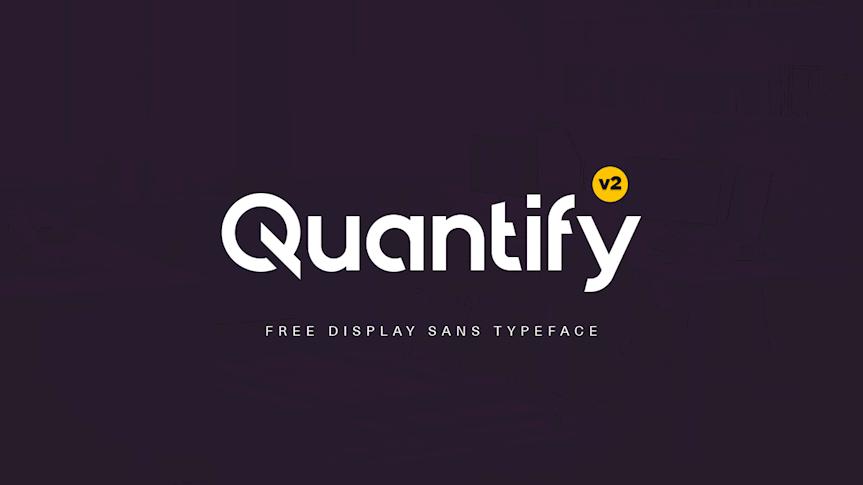 Quantify-v2-Free-Typeface