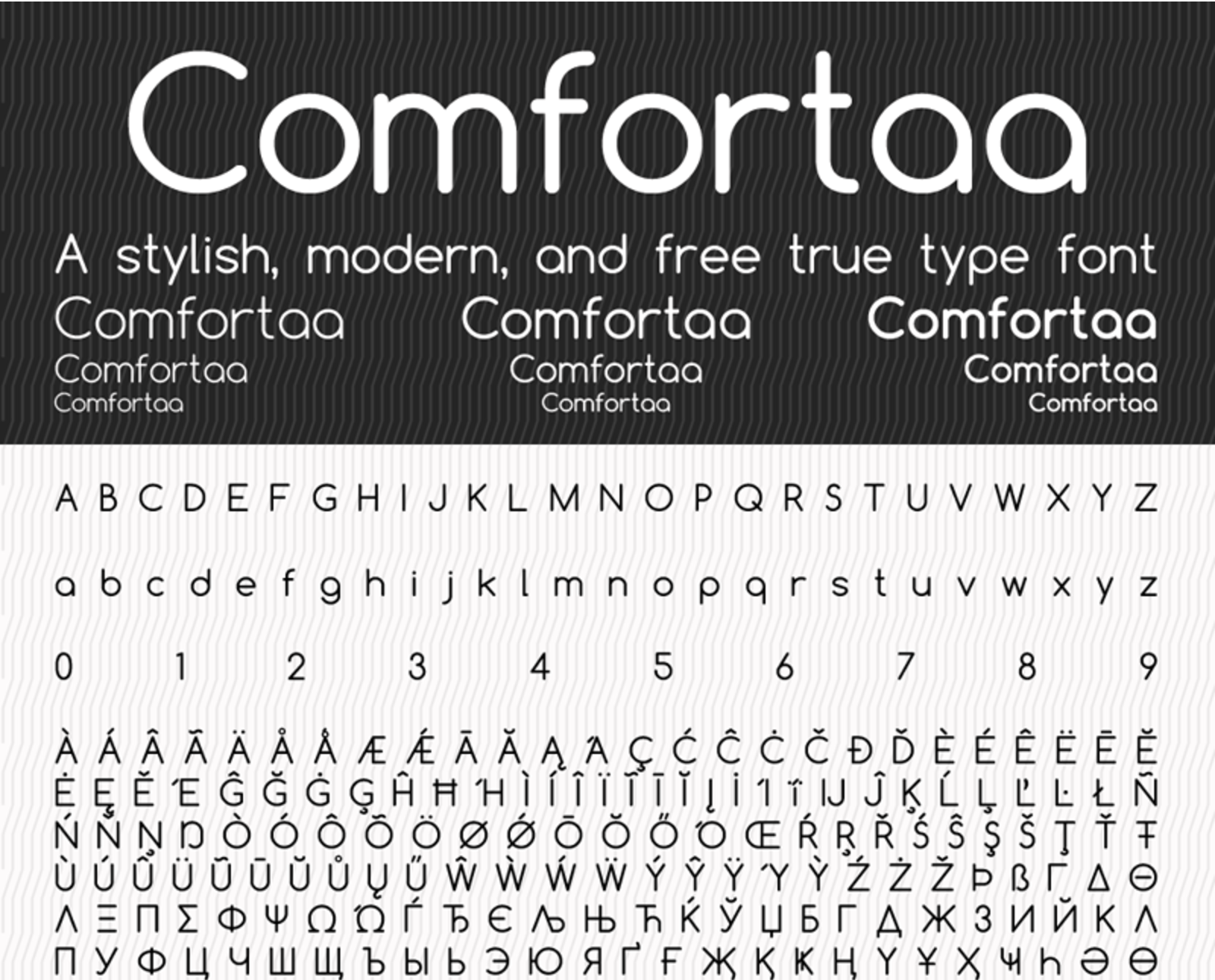 Dragon Digital - 9 Free Minimalistic Fonts To Use On Your
