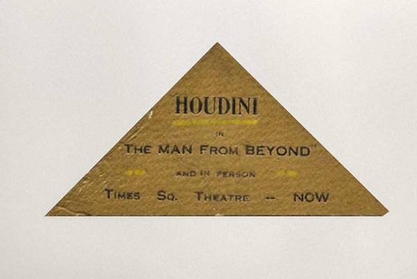 Houdini's Business Card
