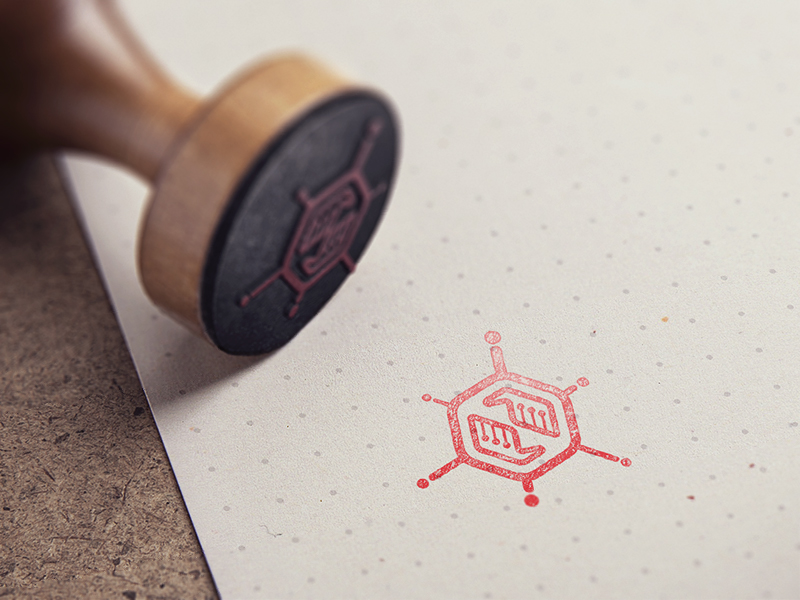21 Beautiful Rubber Stamp Logo Designs to See