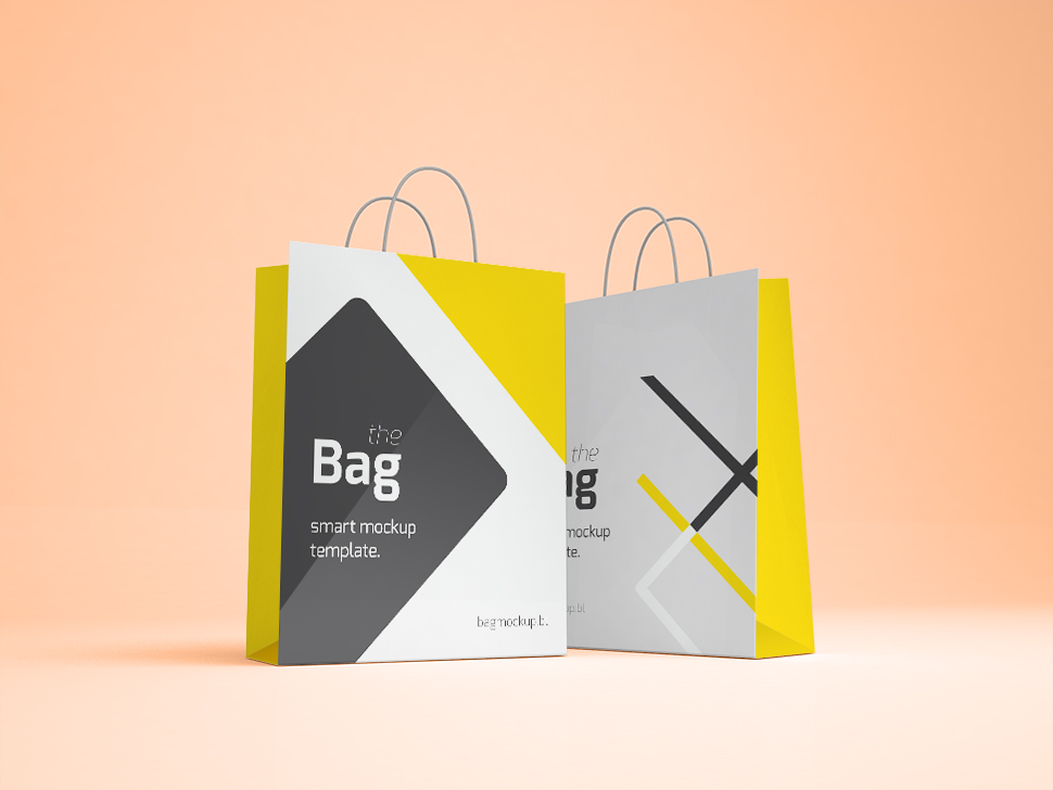 20 Free Beautiful Shopping Bag Mockups to Download