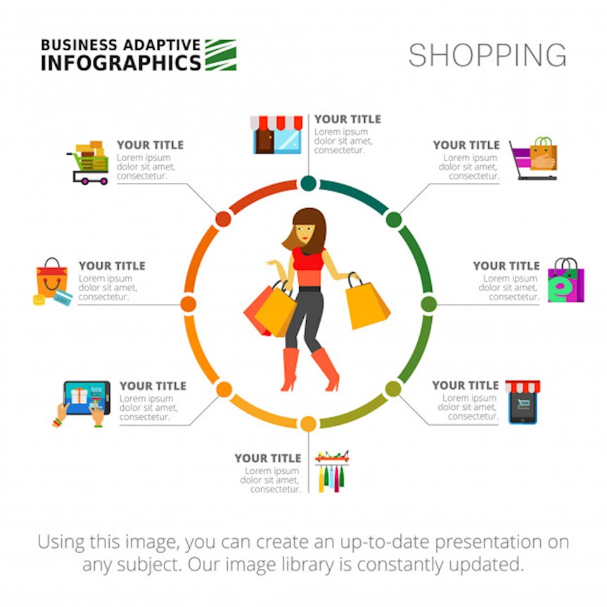 shopping-infographics-slide-template