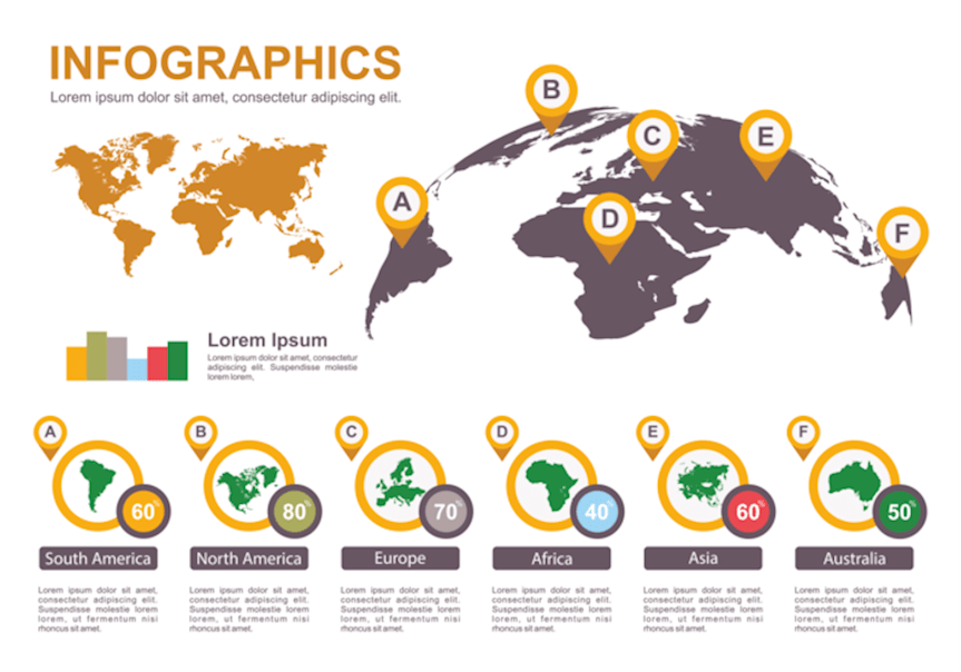 world-map-infographic-vector