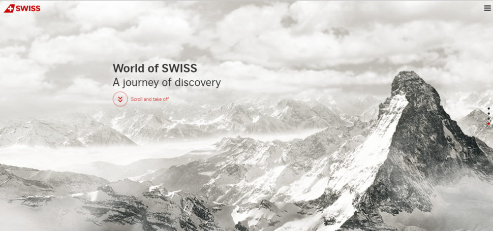 world of swiss website