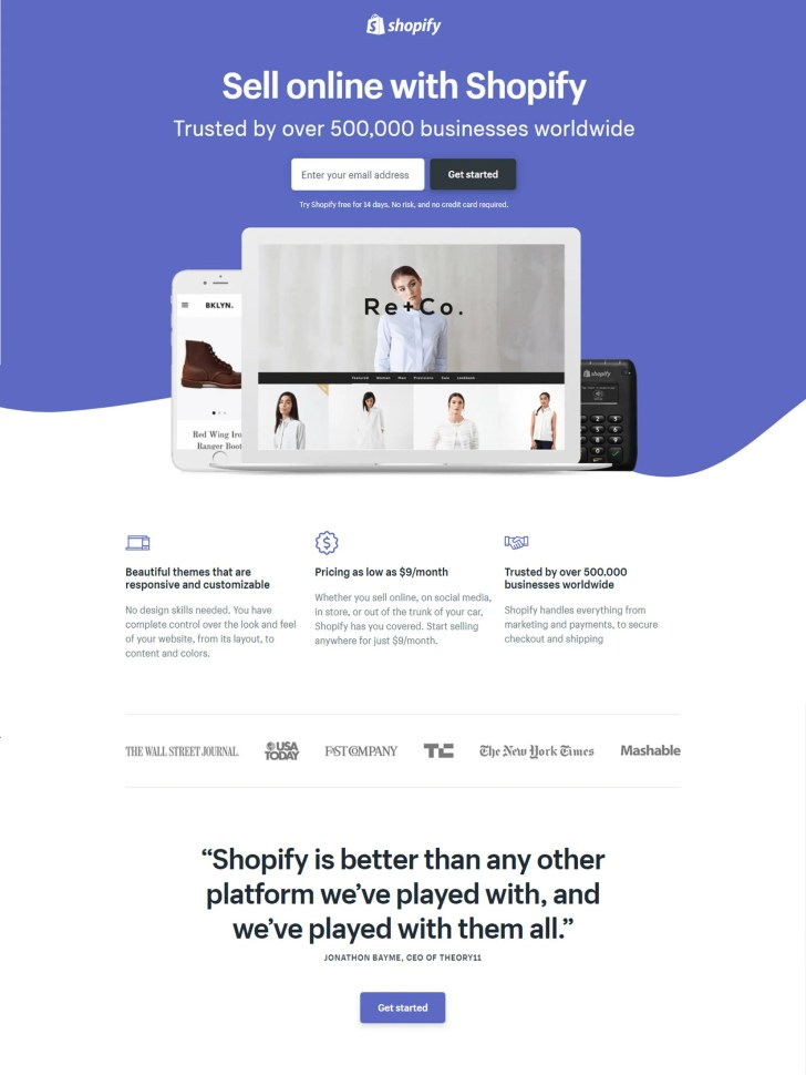 5 Examples Of Awesome And 5 Examples Of Awful Landing Pages