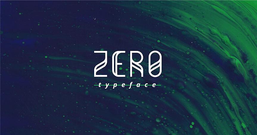 zero-typeface
