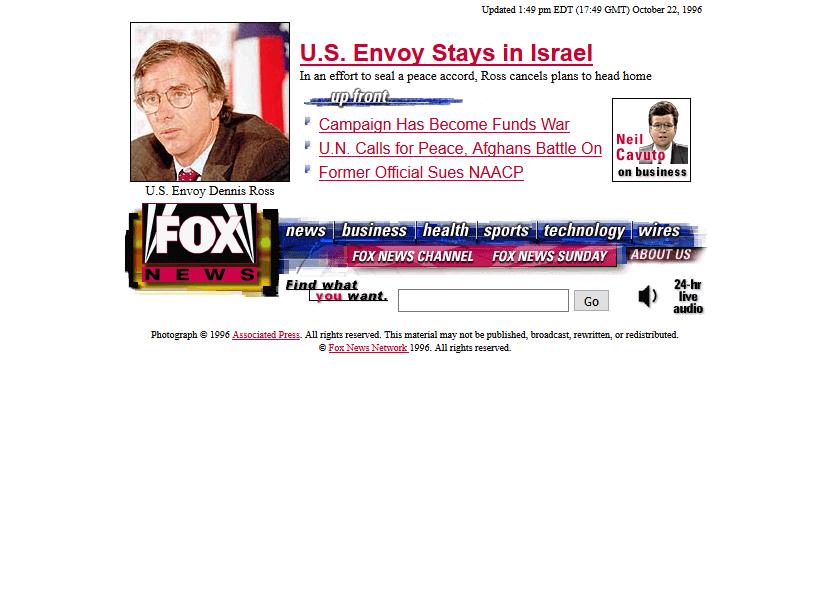 Fox News In 1996 Timeline