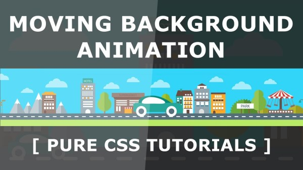 Pure CSS Moving Background Image - CSS Animation with ...
