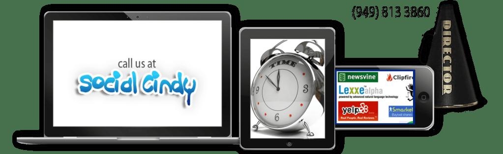 mobile responsive website design. Social Cindy design.