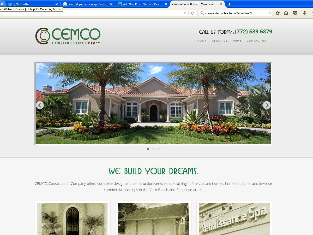 CEMCO Construction Sebastian FL