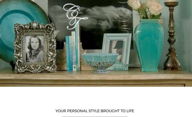 Website Design for Cherie Thompson Interior Design Vero Beach