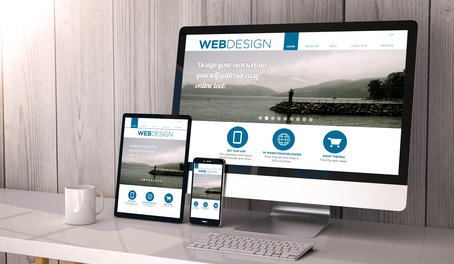 Mobile Responsive Websites display well on computers, tablets and smart phones