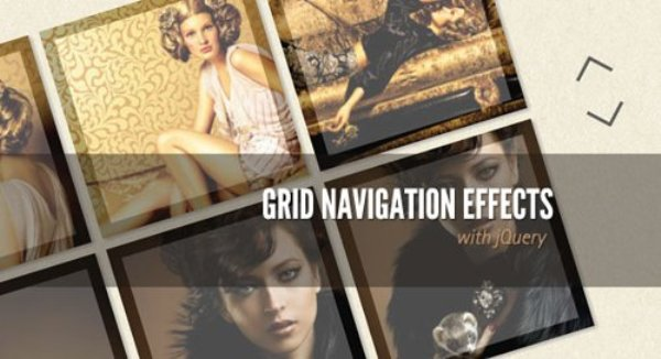 Grid Navigation and Gallery
