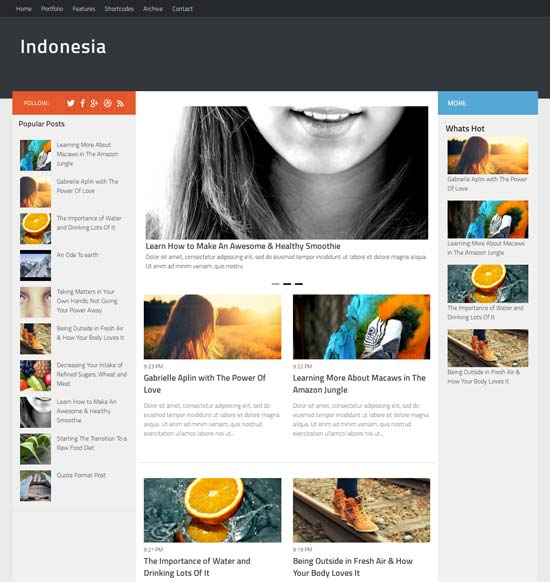 Indonesia-Blogger-Template