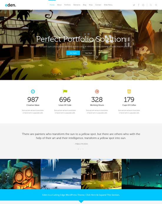 Eden-best-wordpress-theme-march-2014