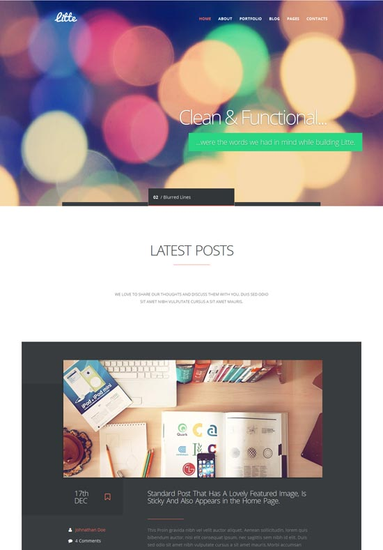 Litte-Multipurpose-WordPress-Theme