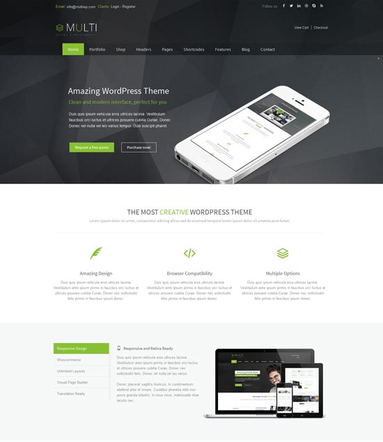 Multi-best-wordpress-theme-march-2014