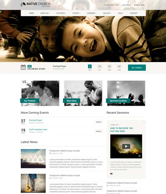 NativeChurch-best-wordpress-theme-march-2014