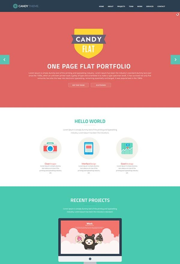Candy-Flat-Responsive-HTML5-Template