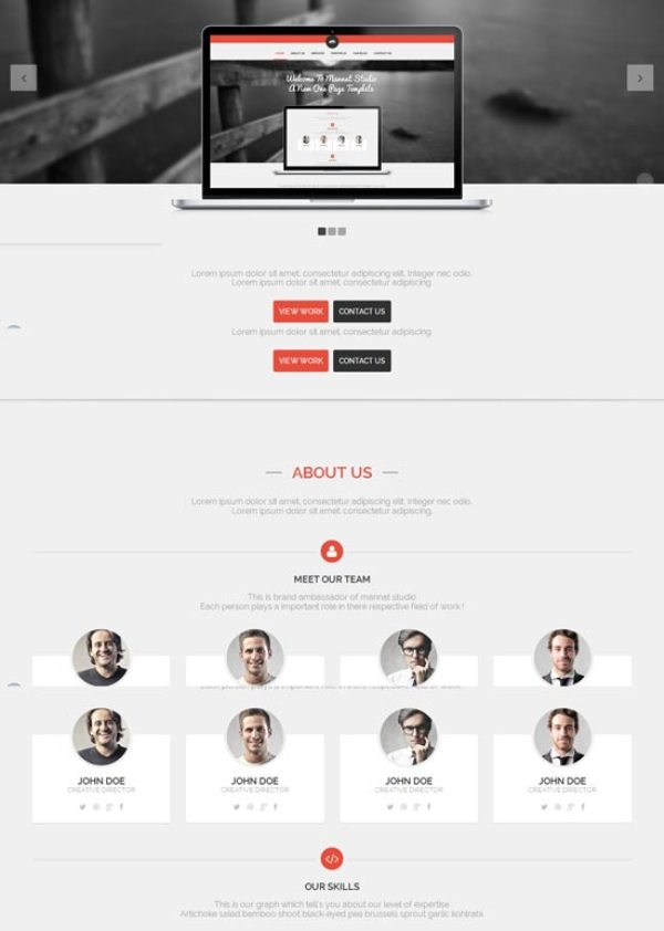 Mannat-Studio-Flat-Clean-One-Page-HTML-Template