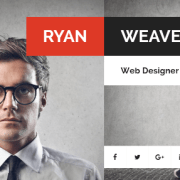 50+ Best Vcard Resume WordPress Themes 2017