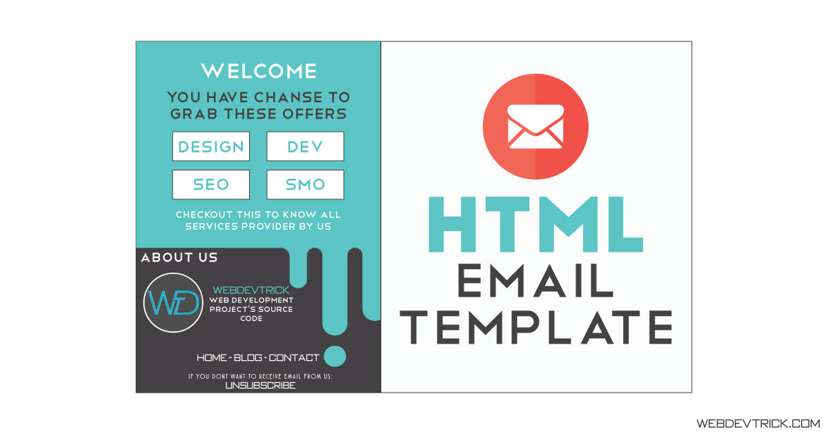 Use the template email.html as is. Html Email Template With Inline Css Newsletter Template With Images