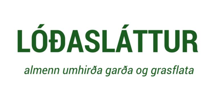 Lóðasláttur Logo