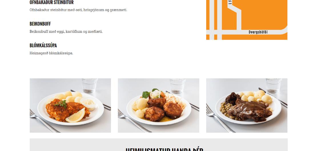 Matstofan.is forsíða