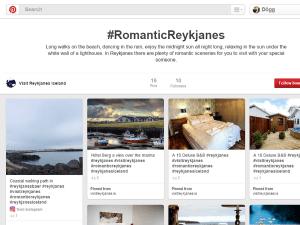 Romantic Reykjanes pinterest skjámynd