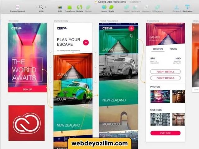 Adobe XD ile Neler Yapılabilir