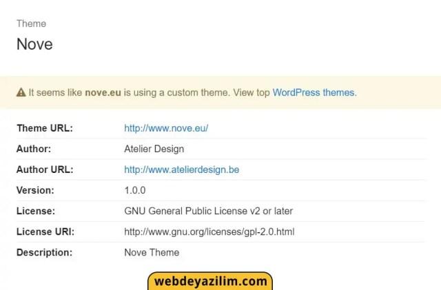 WP tema öğrenme - WP Tema bulma Araçları