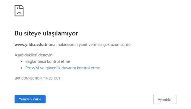Yıldız Teknik Üniversitesi Hacklendi