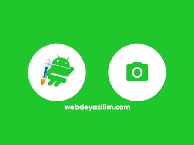 Android Resim Çekme/Seçme
