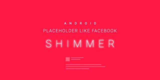 Android Shimmer Kullanımı