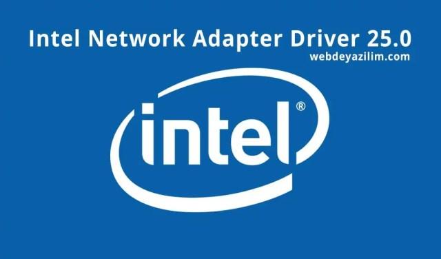 Intel Network Adapter Driver 25.0 indir