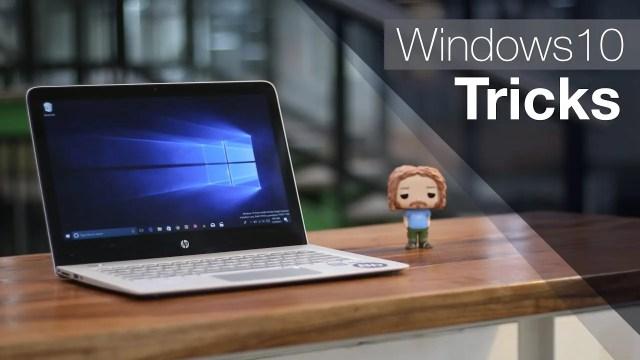 windows 10 bilinmeyen özellikleri