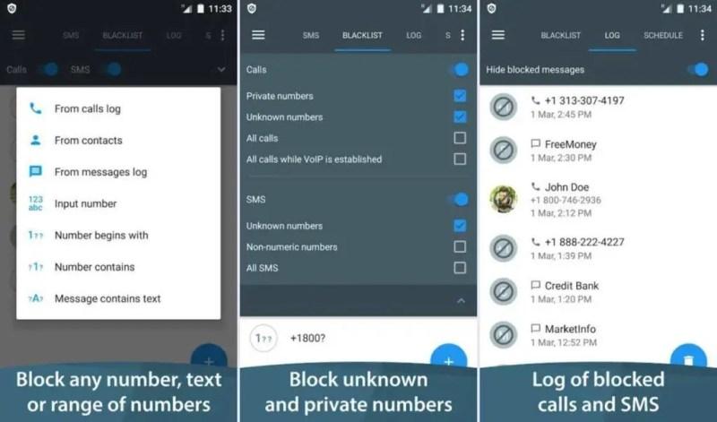 1. Call Blacklist – Call Blocker