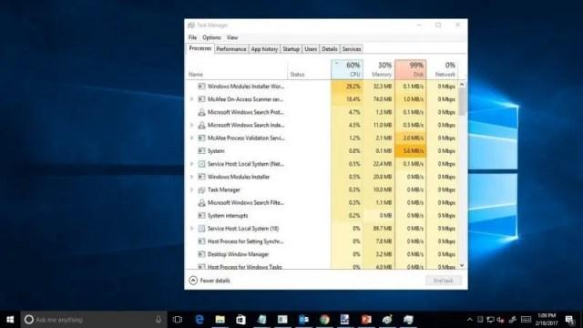 Windows 10 %100 İşlemci Kullanımı Sorunu Çözümü